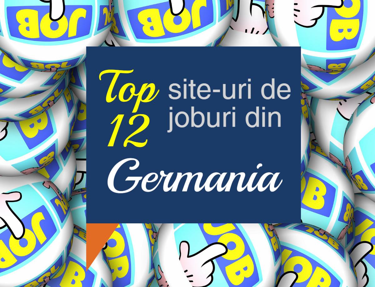 Locuri de munca in Germania – Top 12 site-uri de joburi din Germania