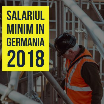 Salariu minim Germania 2018