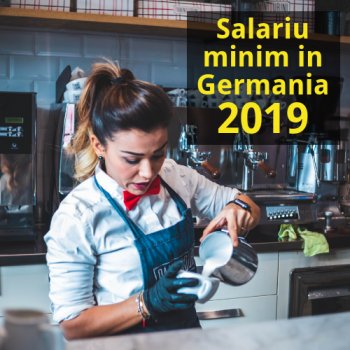 Salariu minim in Germania 2019