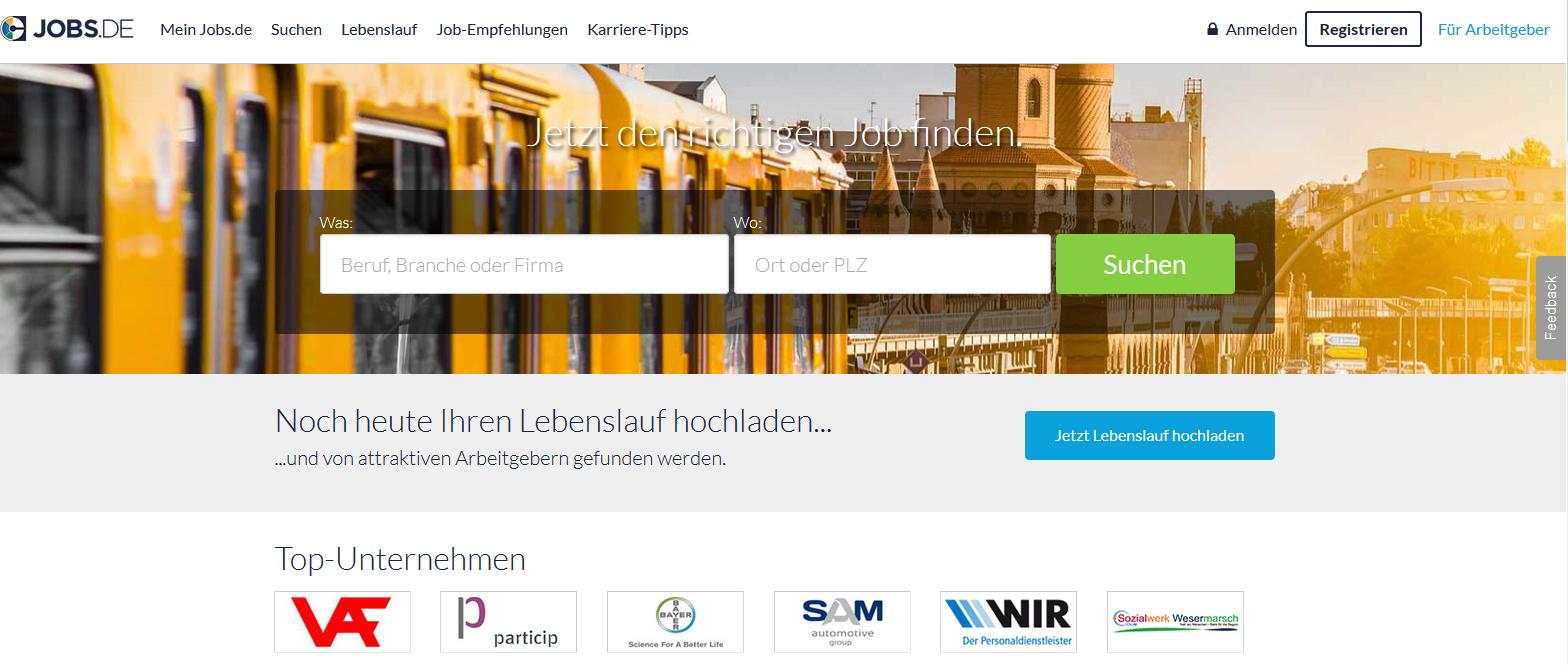 Ungewöhnlich Top Websites Zum Hochladen Von Lebenslauf Galerie ...