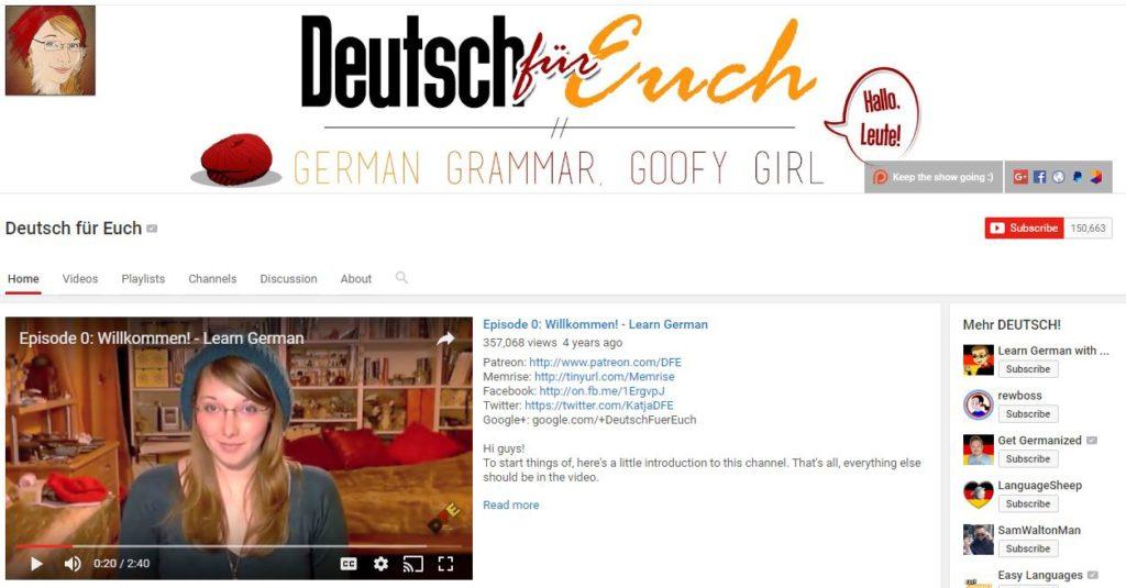 Germana pentru incepatori - Deutsch für euch