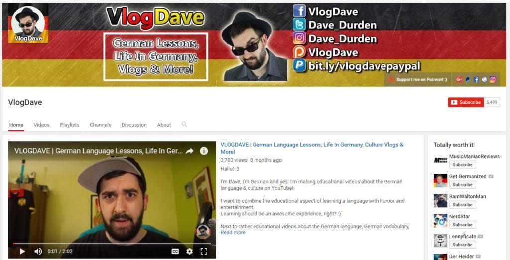 Germana pentru incepatori - VlogDave