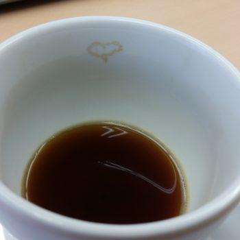 Inima din cafea de 8 martie