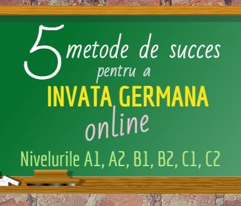 Invata limba germana online cu 5 metode de succes