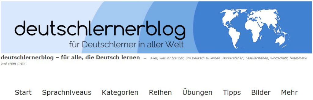 Invata limba germana online cu Deutschlernerblog