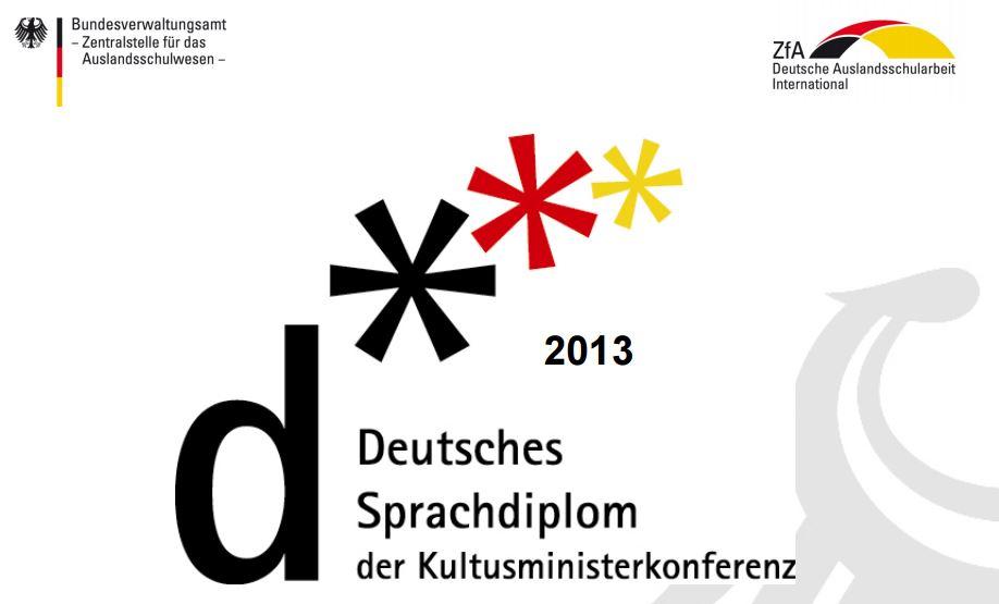 Teste de limba germana pentru Deutsches Sprachdiplom DSD