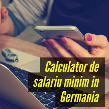 Calculator de salariu minim in Germania