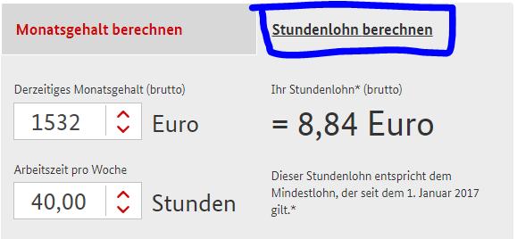 Calculator de salariu minim in Germania pe ora