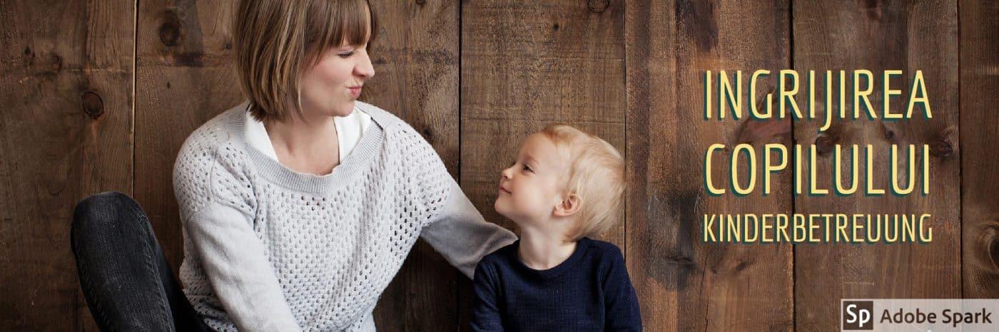Ingrijirea copilului Germania Kinderbetreuung