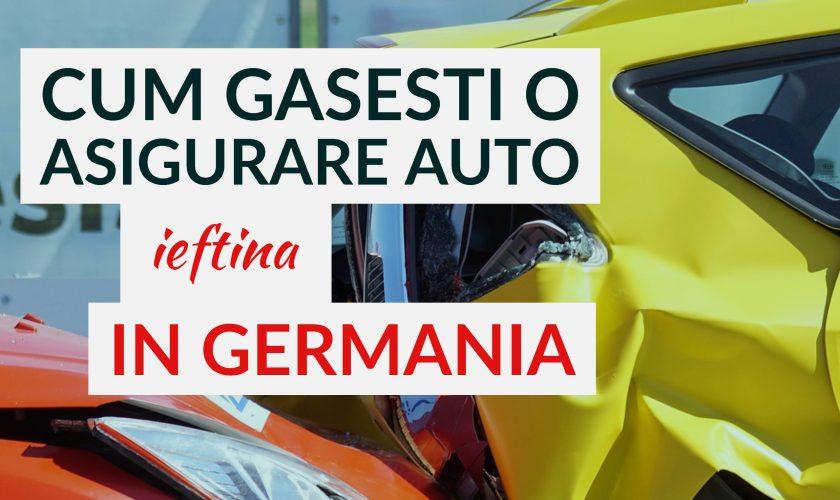 Asigurare auto Germania