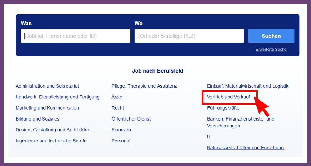 Categorii profesionale Germania Stepstone.de