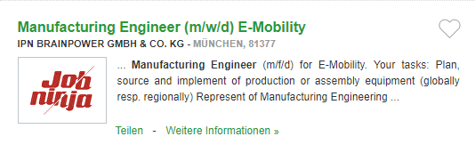 Locuri de munca in Germania in PRODUCTIE fara limba germana