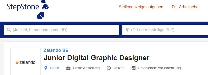 Joburi engleza Germania designer