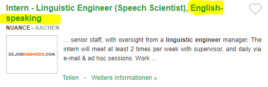 Locuri de munca in Germania in CERCETARE fara limba germana