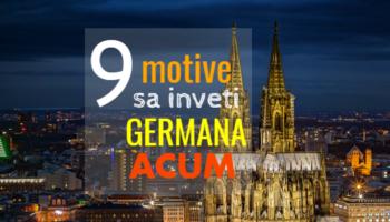 Invata germana acum - 9 motive