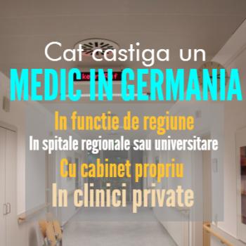 Cat castiga un medic in Germania 2017