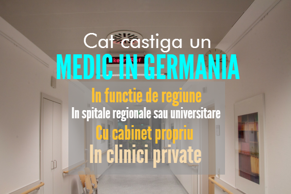 Cat castiga un medic in Germania 2017