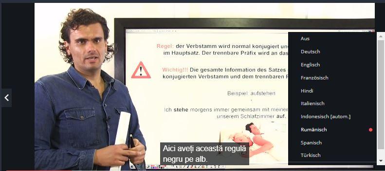 Germana pentru incepatori cursuri online Udemy limba romana