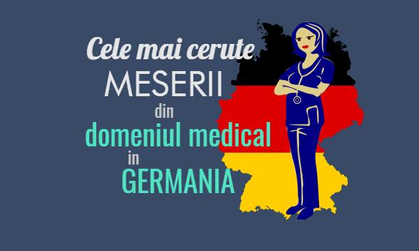Domeniul medical in Germania - Asistente medicale in Germania
