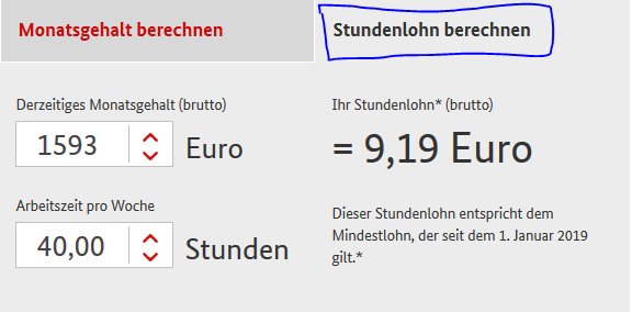 Calculator salariu Germania