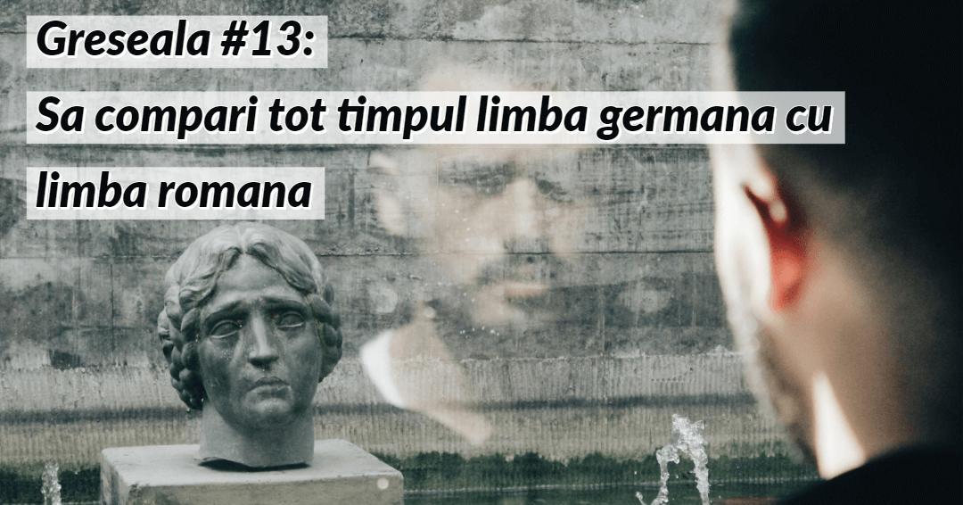 Invata limba germana Greseala 13