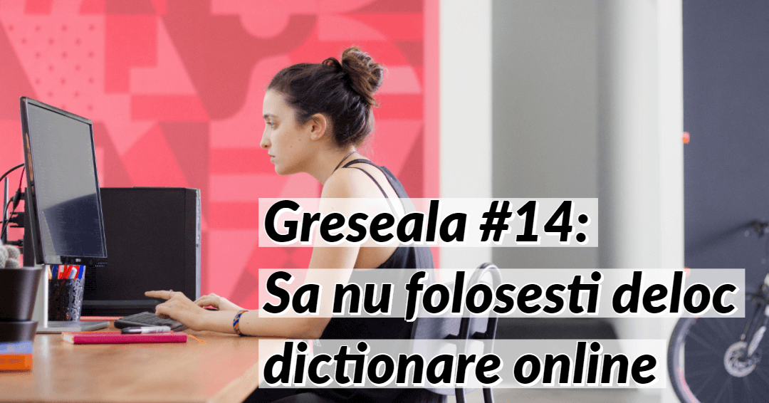 Invata limba germana Greseala 14