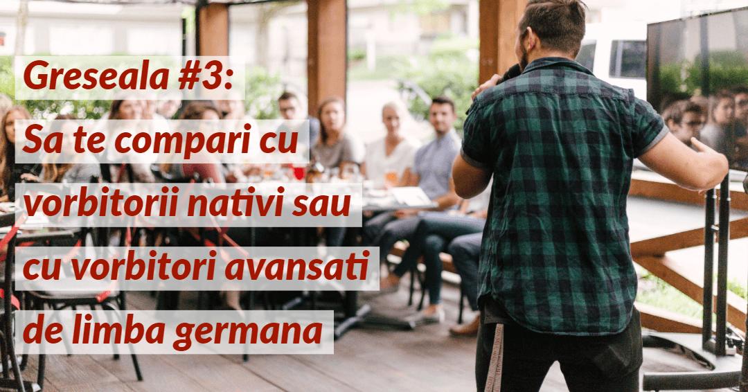 Invata limba germana Greseala 3