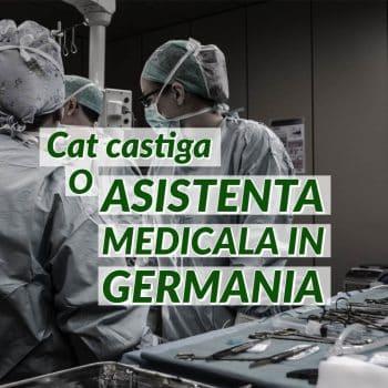 Salariu asistent medical Germania