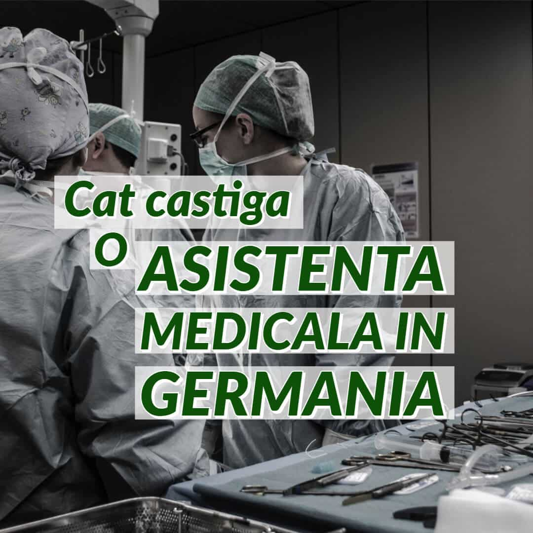 Salariu asistent medical Germania