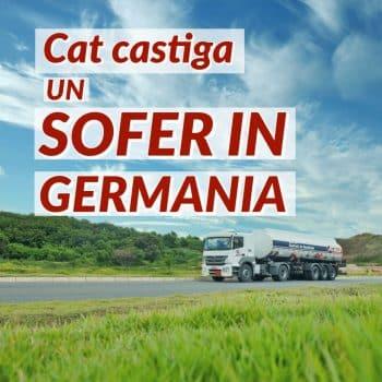 Salariu sofer Germania