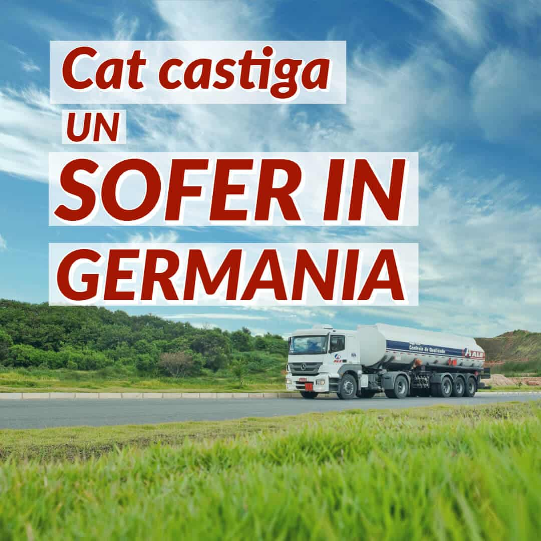 Salariu sofer Germania