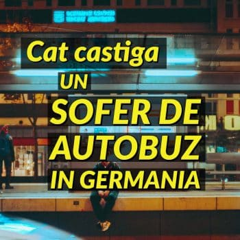 Salariu sofer autobuz germania