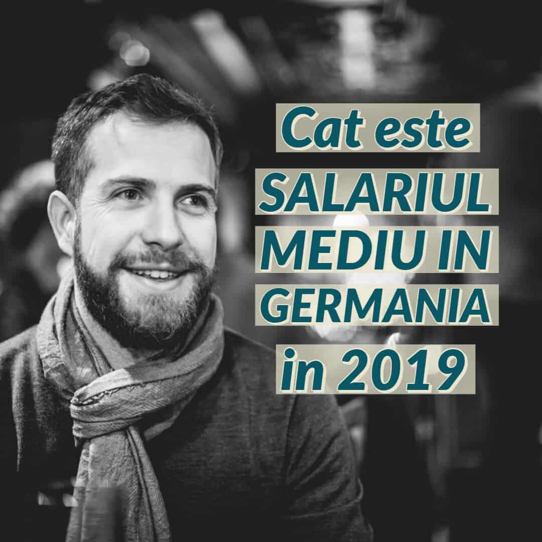 Salariul mediu in Germania