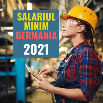 Salariul minim Germania 2021